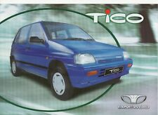 Daewoo-FSO Tico car (made in Poland) _2001 Prospekt / Brochure