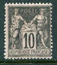 Classique de France Sage N° 103 avec trace de charnière cote: 45€