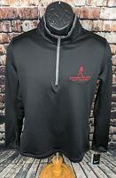 NEW NIKE Johnnie Walker Whiskey Stretch Golf Shirt Jacket Pullover Womens Medium