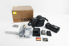 Nikon D800E Digital Camera Body ORIGINAL MB-D12 Two Battery Two Card Count 14500