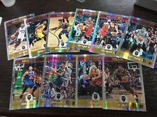 2017-18 Hoops Premium Holo Prizm Cavaliers Team /199 Lot LeBron James Rose SP