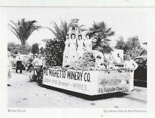 "*Postcard-""The Winery Float"" -1939- *Escondido Grape Festivals (A67-2)"