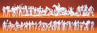 Preiser 16346 HO Sport und Freizeit 120 unbemalte Figuren weiß
