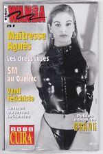 French mag adult WANDA n°31 bdsm latex fetish Sealed