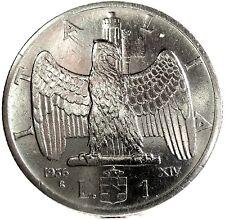 Savoia-Regno d'Italia (Vittorio EM.III) 1 Lira 1936
