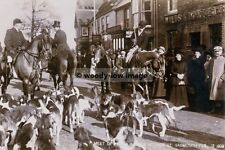 rp01406 - Isle of Wight Hunt at Yarmouth 1909 - photo 6x4