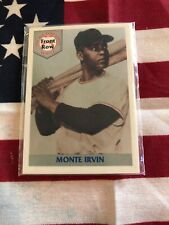 Front Row Monte Irvin Negro League Limeted Edition Set
