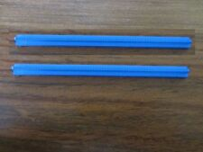 2 RAILS  DROIT  BLEU   / TRAIN TRACK BLUE   --    LEGO