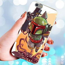Cartoon Star Wars Slim Silicone Soft TPU Phone Shell Case for iPhone Samsung