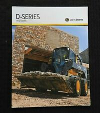 2010 JOHN DEERE 318 320 326 328 332 SKID STEER LOADER TRACTOR BROCHURE MINT