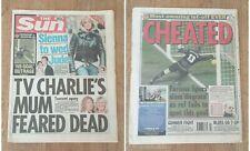 THE SUN NEWSPAPER 5/1/2005 TOTTENHAM MAN UTD 'GOAL' JUDE LAW SIENNA MILLER