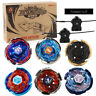 Fury 4D Fusion Beyblade Galaxy Pegasis Set Metal Masters W/ 2 Launchers Toy Gift