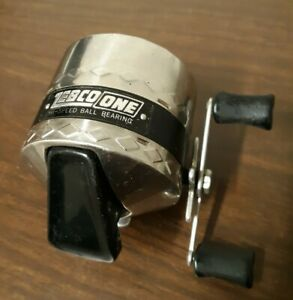 Vintage Zebco One Reel Made in USA Diamond Reel Cover