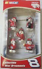 Trevco Nascar #8 Dale Earnhardt Jr Pit Crew Collectible Mini Ornaments NIP Set 5