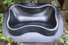 "Dog dish bone plastic mold  12.5"" x 8"" x 2.75"" thick concrete plaster"