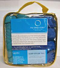12 - SLEEP ROLLERS STYLER COMBO 4 LARGE - 8 MINI  DRY STYLE HAIR WHILE YOU SLEEP