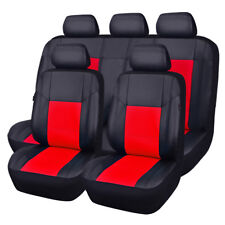 NEW ARRIVAL 11PCS Universal PU Leather fit Car Seat Covers SHIP FROM US