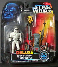 Kenner Star Wars Deluxe Crowd Control Stormtrooper-NEW-Thruster Pack & Claw