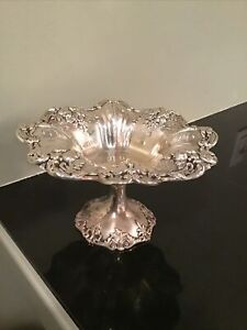 Reed & Barton Antique Sterling Silver Francis I X568 Compote Bowl - 428 Grams