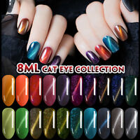 Lavender Violets 8ml 3D Chameleon Magnetic Cat Eye Effect UV LED Gel Nail Polish