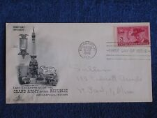 Last Encampment of the G.A.R. First Day of Issue Cover/Indianapolis Indiana 1949