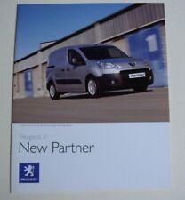Peugeot . Partner . New Peugeot Partner . June 2008 Sales Brochure