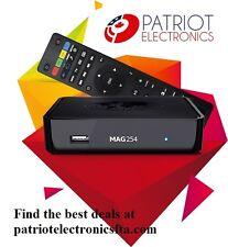 MAG254 IPTV SET-TOP BOX. Original from Infomir. One year manufacturer warranty.