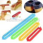 4 Size ABS Plastic Loom For Scarf Shawl Hat Socks Long Knit Knitter Knitting DIY