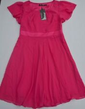 NEW Every-Pretty Make You Pretty Forever Women's Pink Lined Dress Size US 10