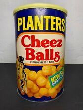New ListingVintage 1970s Planters Cheez Balls 9.25oz Cardboard Can 00004000