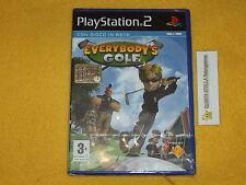EVERYBODY'S GOLF  PS2 SONY PLAYSTATION 2 VERSIONE ITALIANA NUOVO SIGILLATO