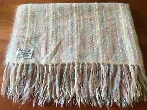 Churchill Weavers Hand Woven Mohair Blend Throw Blanket - Unused