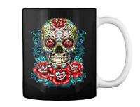 Awesome Sugar Skulls Tee Gift Coffee Mug