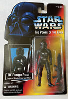 NEW Star Wars POTF TIE Fighter Pilot with Imperial Blaster Pistol & Rifle Kenner
