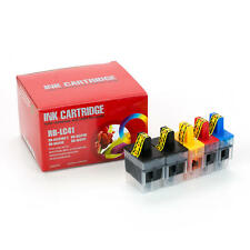 5PK ink for Brother LC41 MFC-425CN MFC-5440CN MFC-5840CN MFC-620CN MFC-640CW