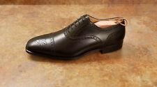 New! Magnanni 'Cieza' Semi Brogue Oxfords Black Leather Mens Size 9 M MSRP $325