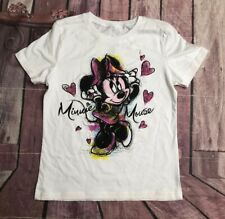 Disney Minnie Mouse T-Shirt size XS White Multicolor NEW