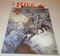 Kill Shakespeare #1 Comic IDW 2010 Convention VARIANT 1st Print First McLeod