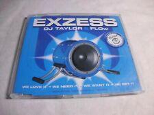 DJ Taylor & F.L.O.W. Exzess  - Maxi  CD gebraucht  gut