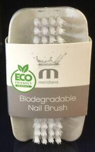 Eco Friendly Biodegradable Nail Brush Oatmeal