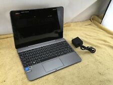 """Asus Transformer Book 10.1"""" Touchscreen Laptop, 64GB, Windows 10 - Gray - USED"""