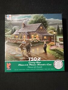 """Patrick J. Costello """"Coming Home"""" 18""""x 24"""" [750 Piece Puzzle] New"""