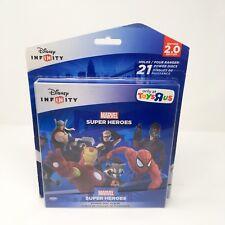 DISNEY INFINITY 2.0 Marvel Heroes Power Disc Rare Set 21 Disc Lot Album