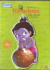 KRISHNA THE BIRTH (IN HINDI) - NEW ORIGINAL BOLLYWOOD DVD