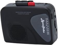 Byron Statics Portable Cassette Players Recorders FM AM Radio Walkman Tape Built