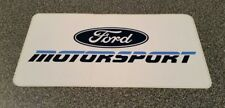 """FORD Motorsport Racing Decal Sticker Mustang Cobra Parts Large Size NOS 7""""x3.75"""""""