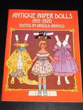 Antique Paper Dolls 1915 - 1920 ~ UNCUT and 100% COMPLETE (1975)