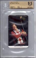 MARK O'MEARA 1986-87 Fax Pax GOLF Card BGS 9.5 GEM MINT PGA Golf U.K. Great