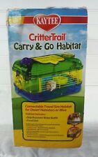 Kaytee CritterTrail Carry & Go Habitat for Hamsters Mice Nib!