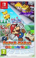 Paper Mario The Origami King Nintendo Switch Nintendo Switch Lite - Brand New!